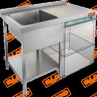 Ванна моечная под посудомоечную машину HICOLD НСО1МП-12/7БЛ