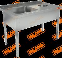 Ванна моечная для сбора отходов HICOLD НДСО1М-12/7БЛ