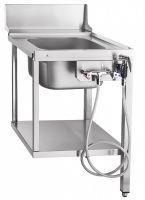 Стол предмоечный Abat СПМП-6-1 для туннельных посудомоечных машин