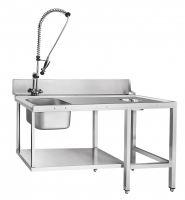Стол предмоечный Abat СПМП-6-5 для туннельных посудомоечных машин