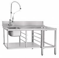 Стол предмоечный Abat СПМП-6-7 для туннельных посудомоечных машин