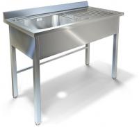 Ванна моечная с рабочей поверхностью Техно-ТТ ВМ-33/456Л/П/пл