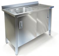 Ванна моечная с рабочей поверхностью Техно-ТТ ВМ-35/668Л/П
